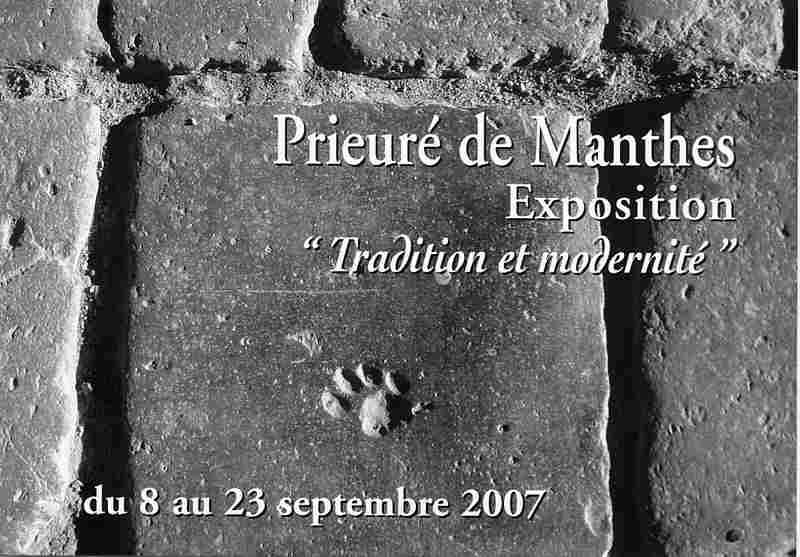 Exposition au Prieuré de Manthes 2007.jpg
